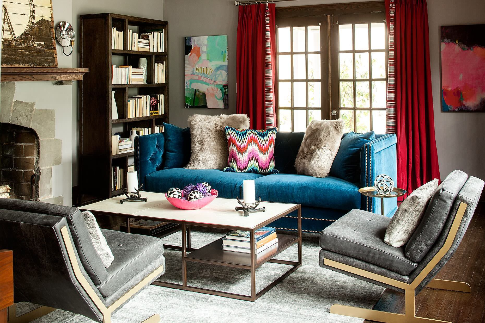 Which Type Of Velvet Sofa Should You Buy For Your Home Shoproomideas Cozy Living Room Design Farm House Living Room Eclectic Living Room
