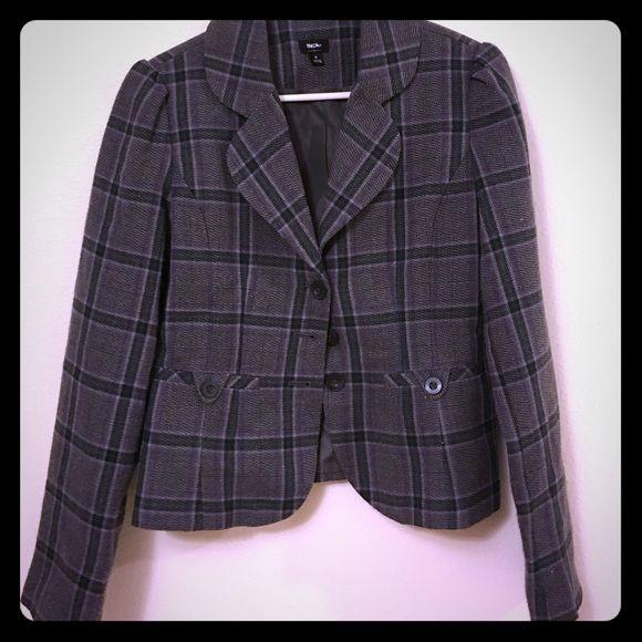 Plaid Blazer Plaid blazer- size small. Worn a few times. Great condition Mossimo Supply Co Jackets & Coats Blazers