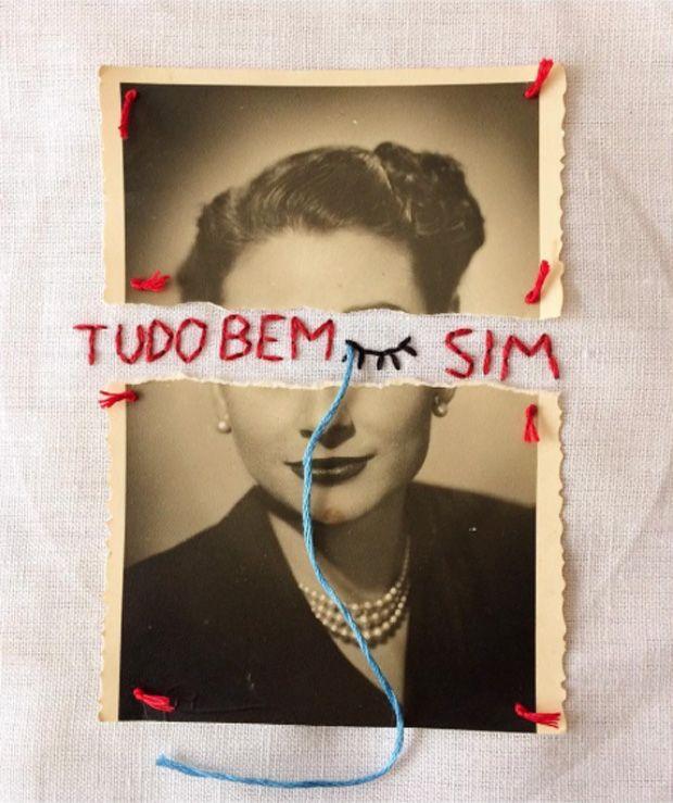 Artista Brasileiro Transforma Fotografias Antigas Em Bordados Que