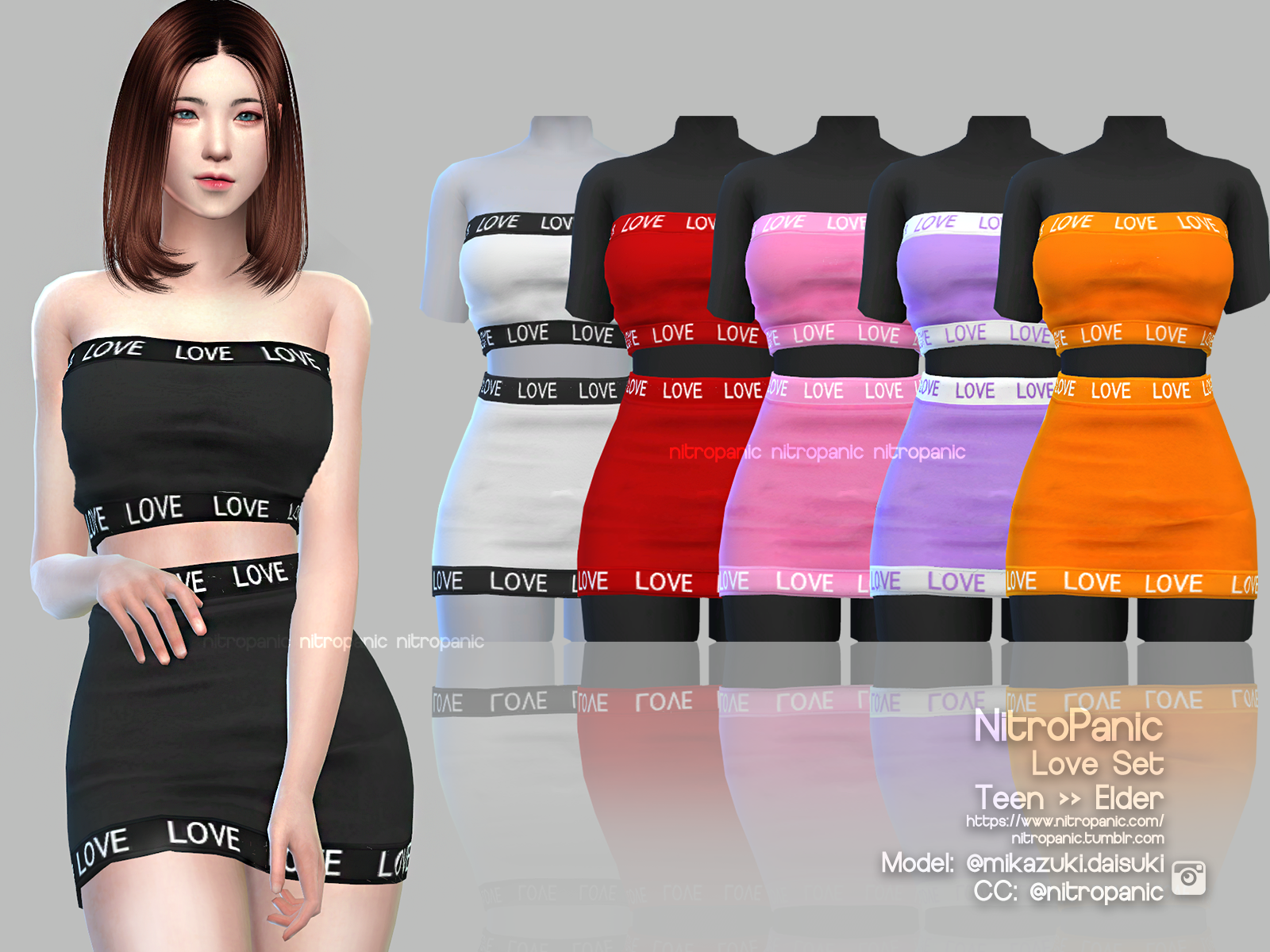 f2168880379 Love Set (BOTTOM) - The Sims 4 Download - SimsDomination