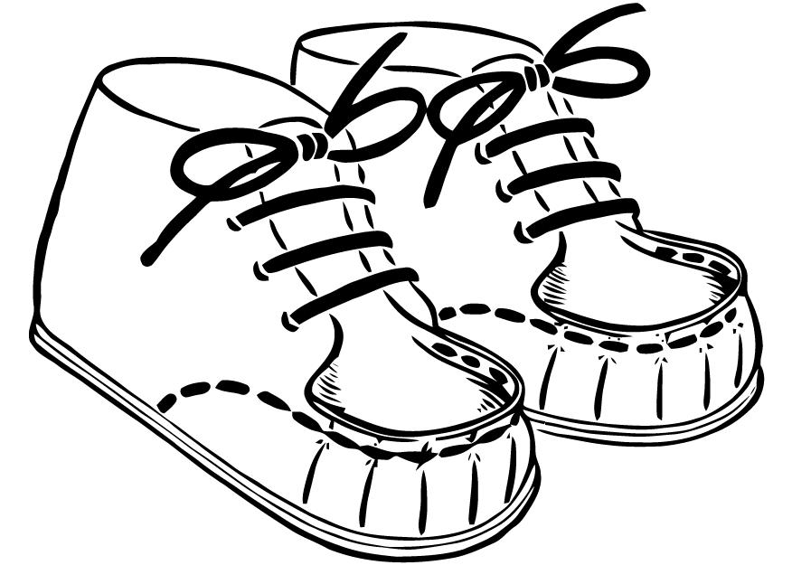 Free Vector Art Baby Shoes Free Vector Art Vector Free Art