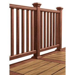 Composite Deck Railing Systems 100s Of Deck Railing Ideas  Http://awoodrailing.com