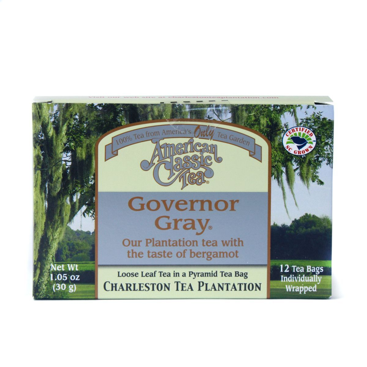 Governor Gray - American Classic Tea - Box of 12