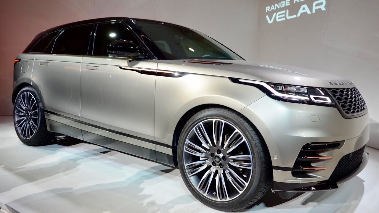 ALL NEW 2018 Range Rover Velar Interior Exterior Drive