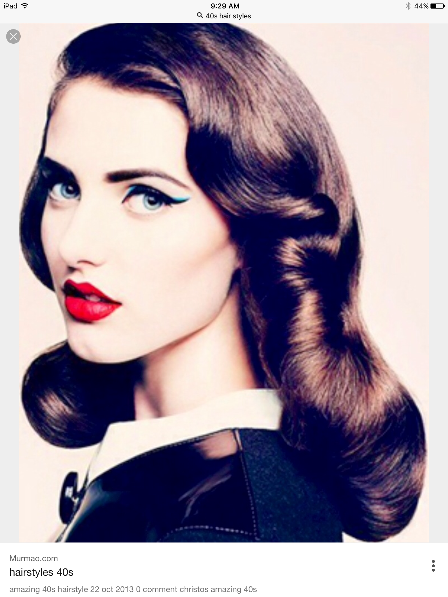 61 Hairstyles 40s Color 40s Hairstyles Vintage Hairstyles Long Hair Styles