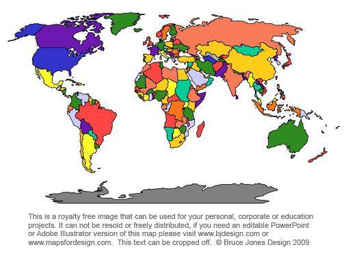 World Map - Free Large Images photo Pinterest Worldmap - fresh interactive world map desktop background