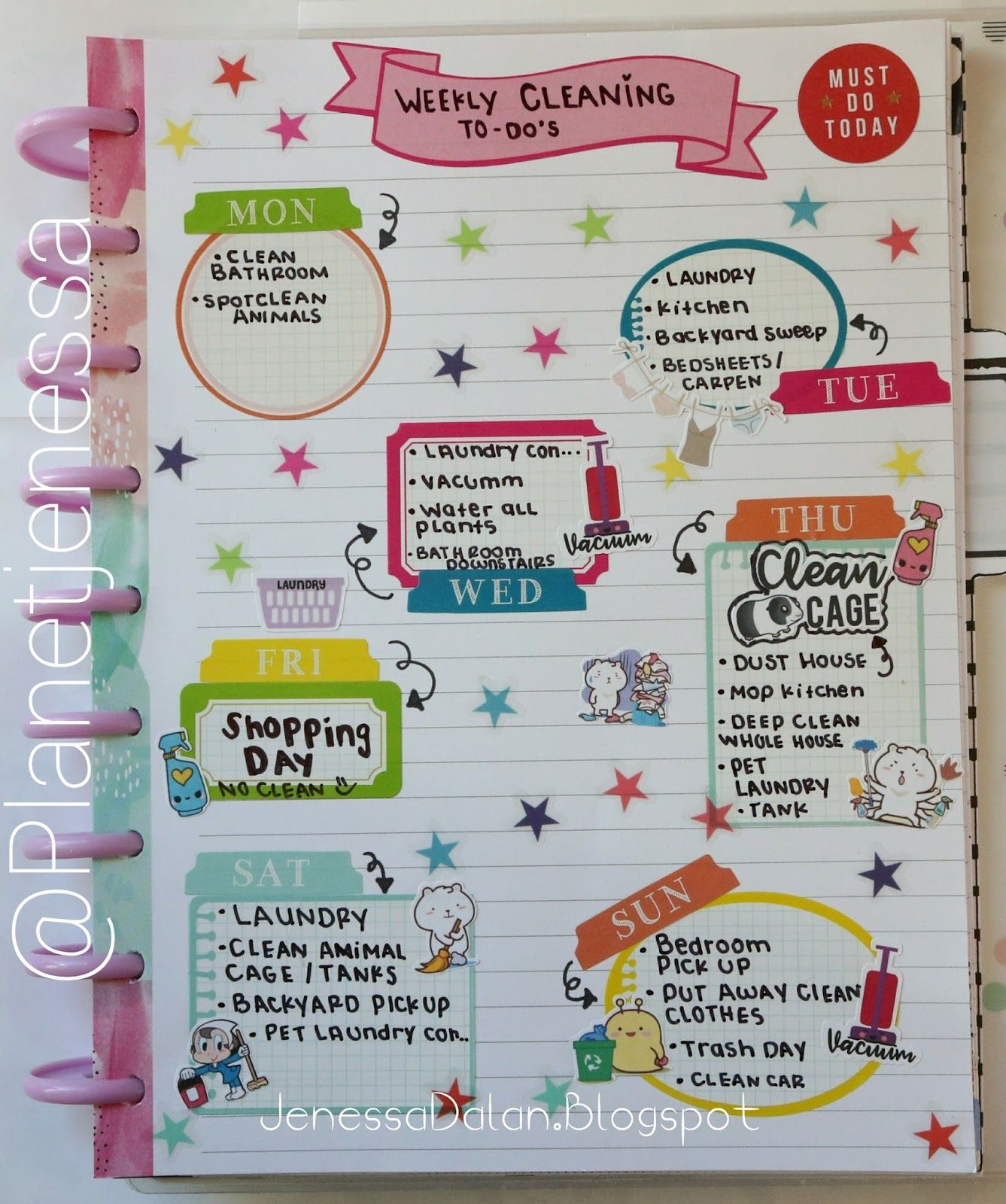 FOR YOUR PLANNER FUN & CREATIVE NOTES & LIST IDEAS Using MAMBI ...