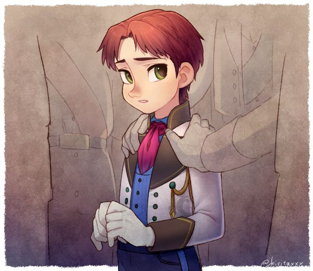 Day 3: favorite official Prince: Hans!~ Frozen. I know that everybody hates him and everything ...