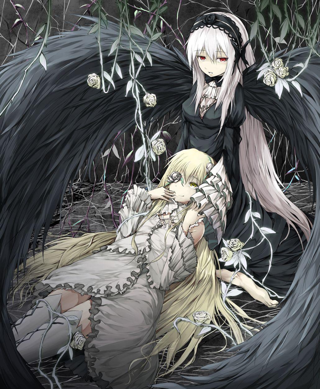 Rozen Maiden Manga gothique, Dessin manga, Dessin