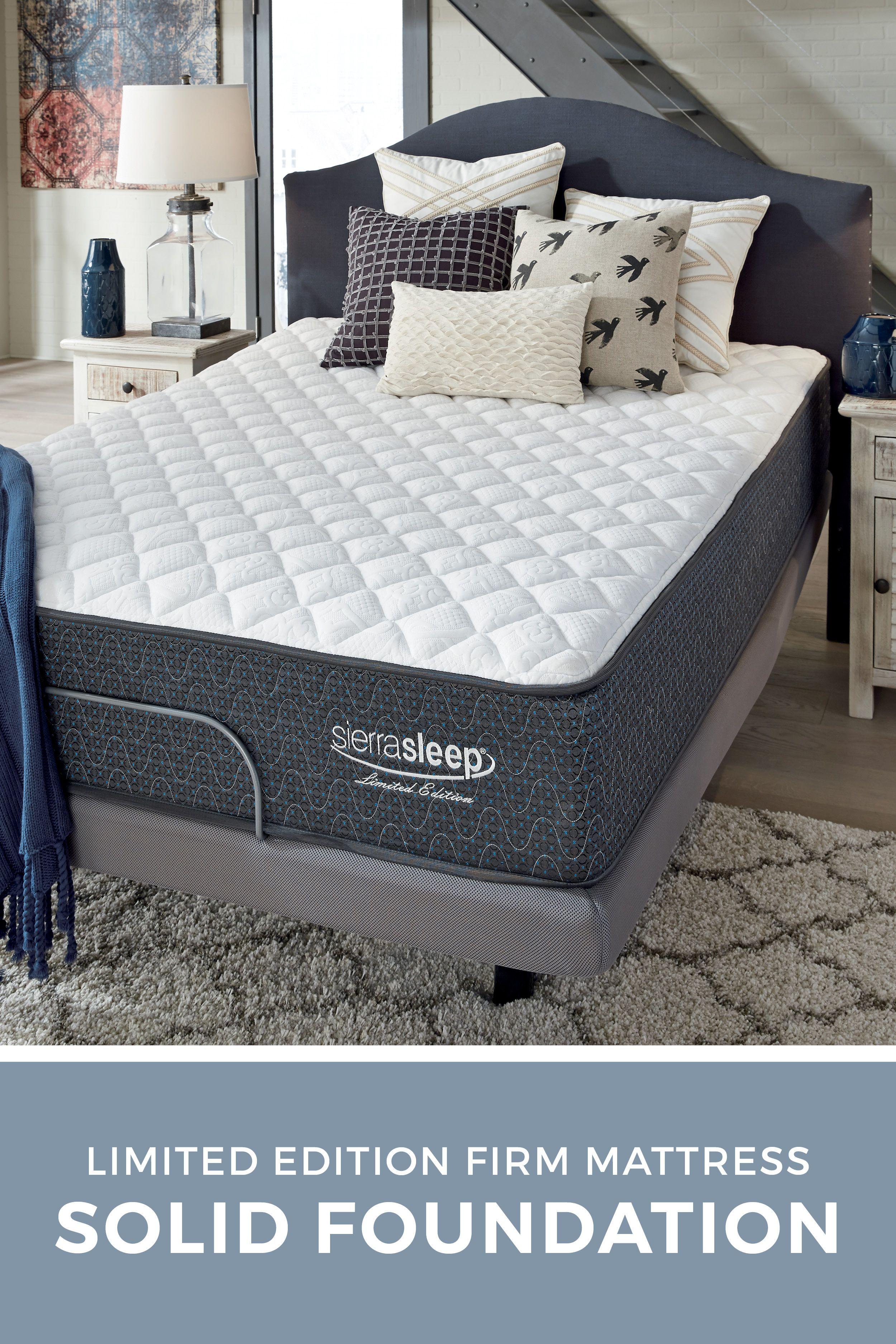 Limited Edition Firm Sierra Sleep Mattress By Ashley Furniture