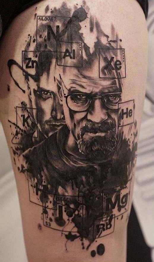 100 Most Beautiful Tattoo Ideas Breaking Bad Tattoo Badass