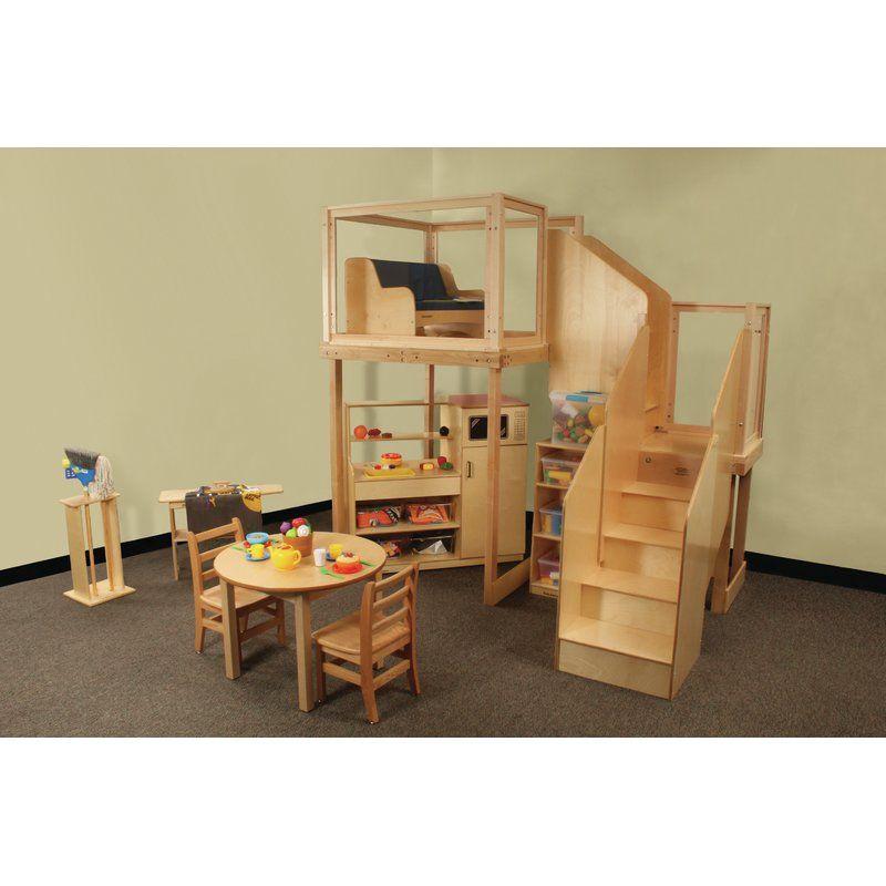 Childcraft Basic Climber Indoor Playset Loft Design Furniture Sale