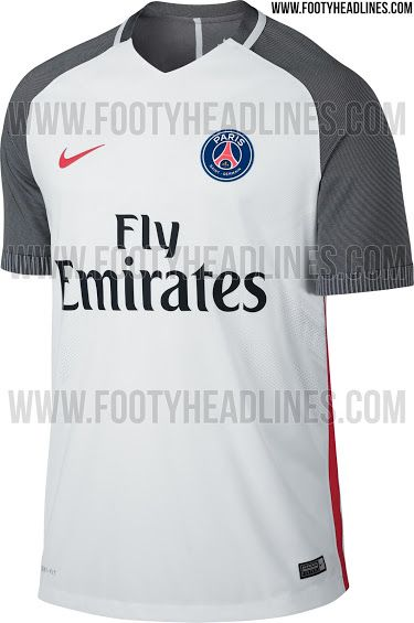 competitive price 1a1b3 9873a The new PSG 2016-17 extra kit introduces a clean look for ...