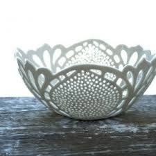 Image result for ceramic lace