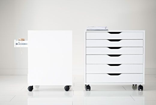 alex drawer unit on casters white ikea drawers drawer unit and drawers. Black Bedroom Furniture Sets. Home Design Ideas