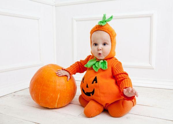 Le d guisement halloween du b b si amusant les b b b b et deguisement - Deguisement bebe halloween ...