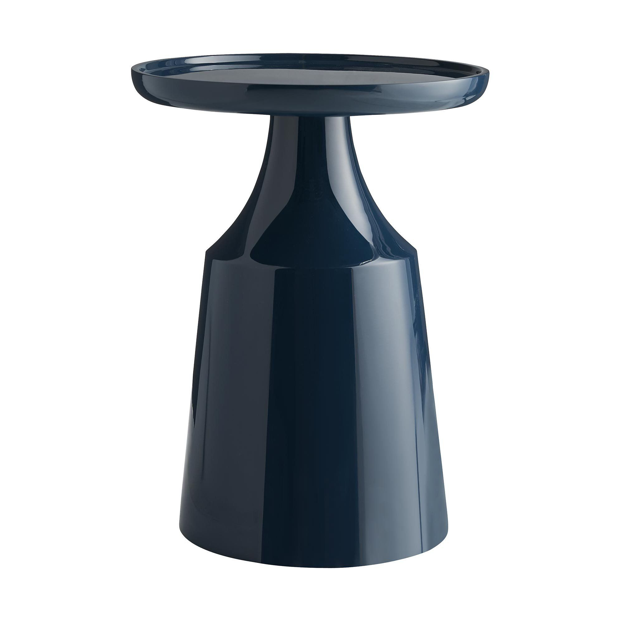 - Royal Accent Table – Black Rooster Decor Side Table, Living Room