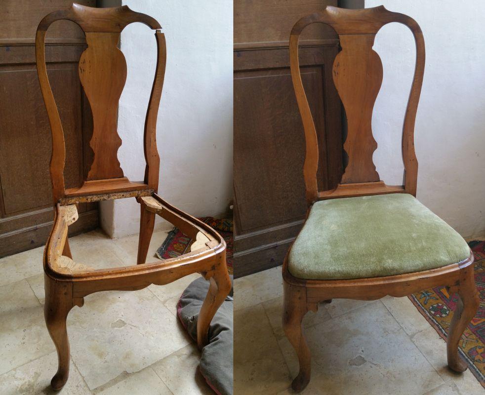 Restauration chaise s XIX Restauration de meubles Pinterest - comment restaurer un meuble