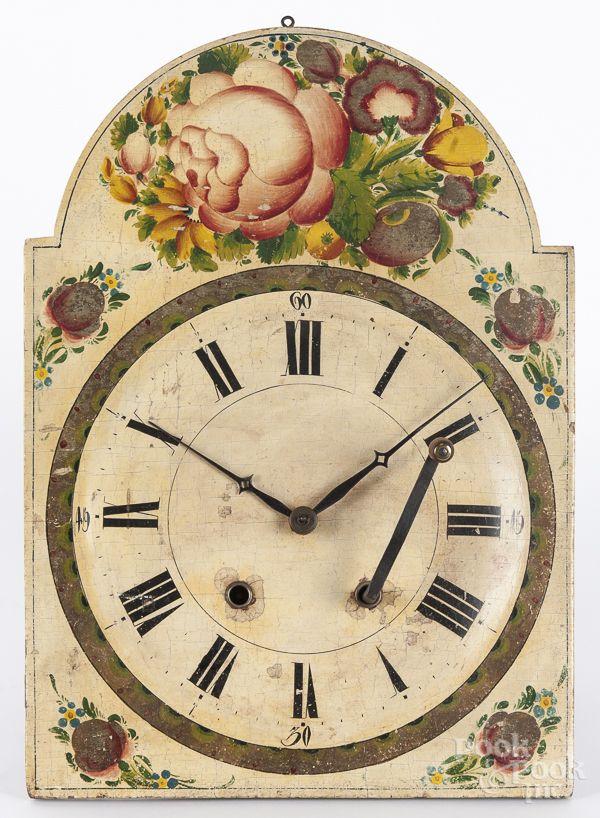 Wag On The Wall Clock American Decor Clock Historical Art