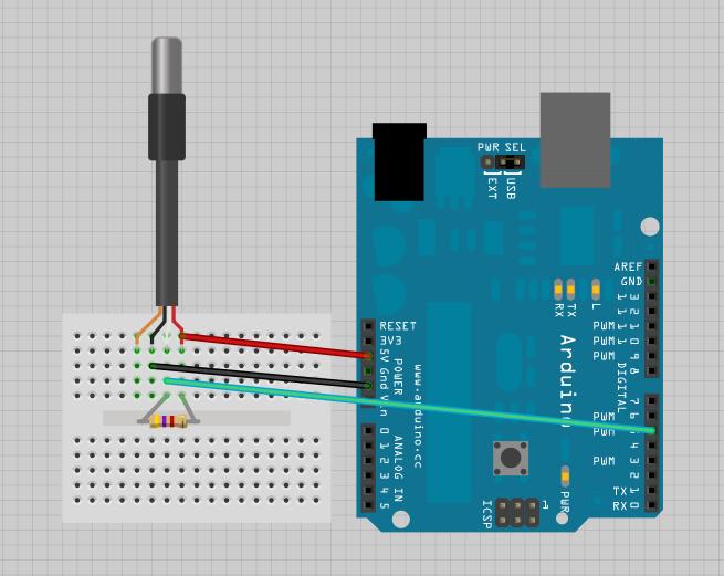 Arduino Aquaponics Envdaq With Water Temperature Sensor Arduino Temperature Sensor Arduino Aquaponics