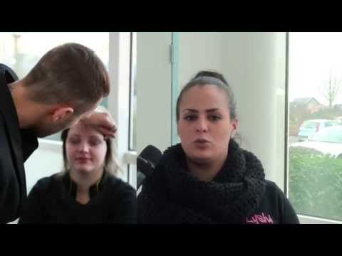 Making of coiffure maquillage Miss Ronde