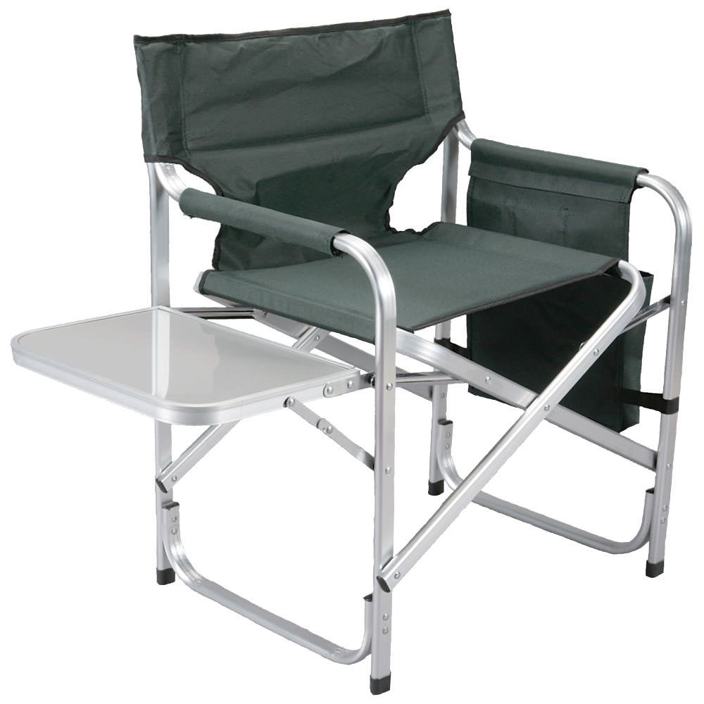 The Faulkner Director's Chair is ideal whether you need extra seating on the patio or around the campfire.