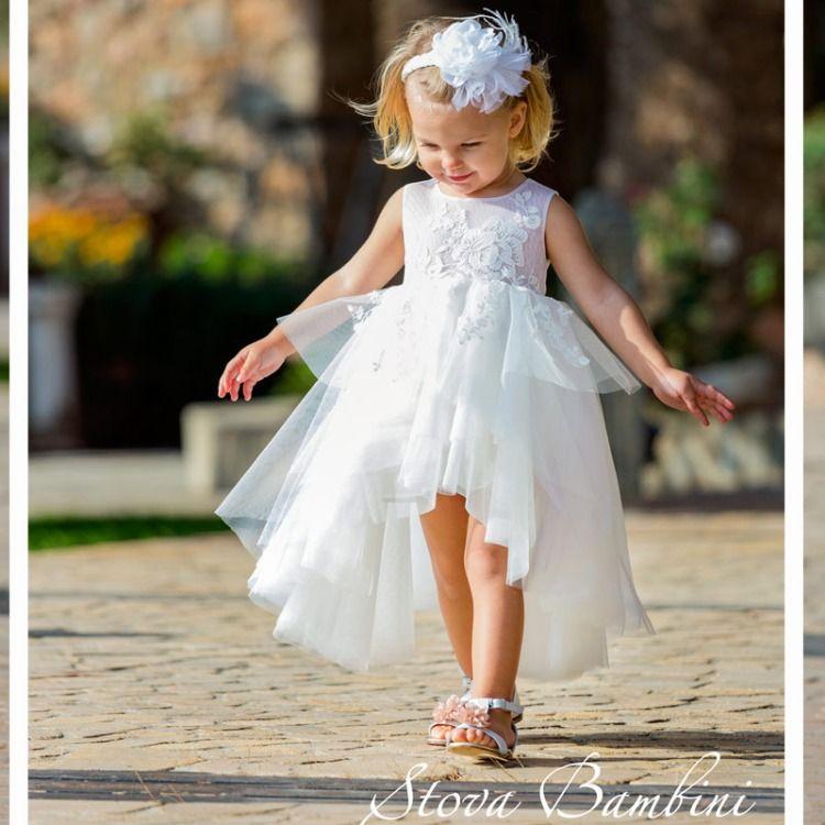 6d462020cc01 Φόρεμα Βάπτισης G6 της Stova Bambini SS2019 Η Συλλογή Βαπτιστικών της Stova  Bambini για το Καλοκαίρι