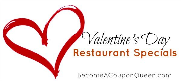 Valentine S Day Restaurant Specials Bargains Found Online