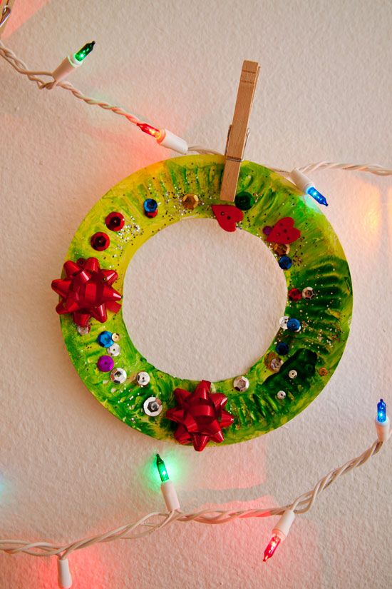 This is the simple christmas craft that my 4 year old for Christmas crafts for four year olds