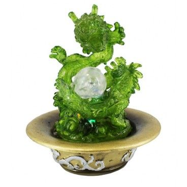 Take A Look At This Amazing Dragon Water Fountain It Comes With