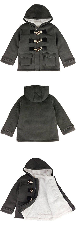 74683a1b3 Jastore Unisex Baby Boys Girls Winter Warm Hooded Coat Children ...