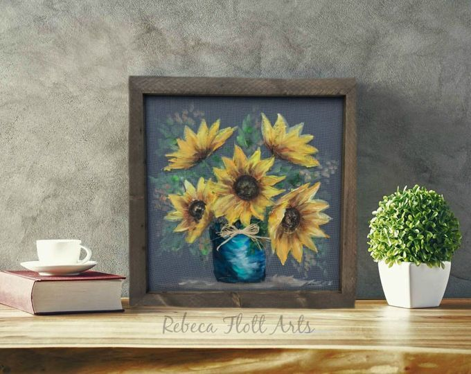 Painted window screen, White sunflower , outdoor porch decor hand painted on window screen #sunflowerchristmastree Painted window screen White sunflower outdoor porch decor | Etsy #sunflowerchristmastree