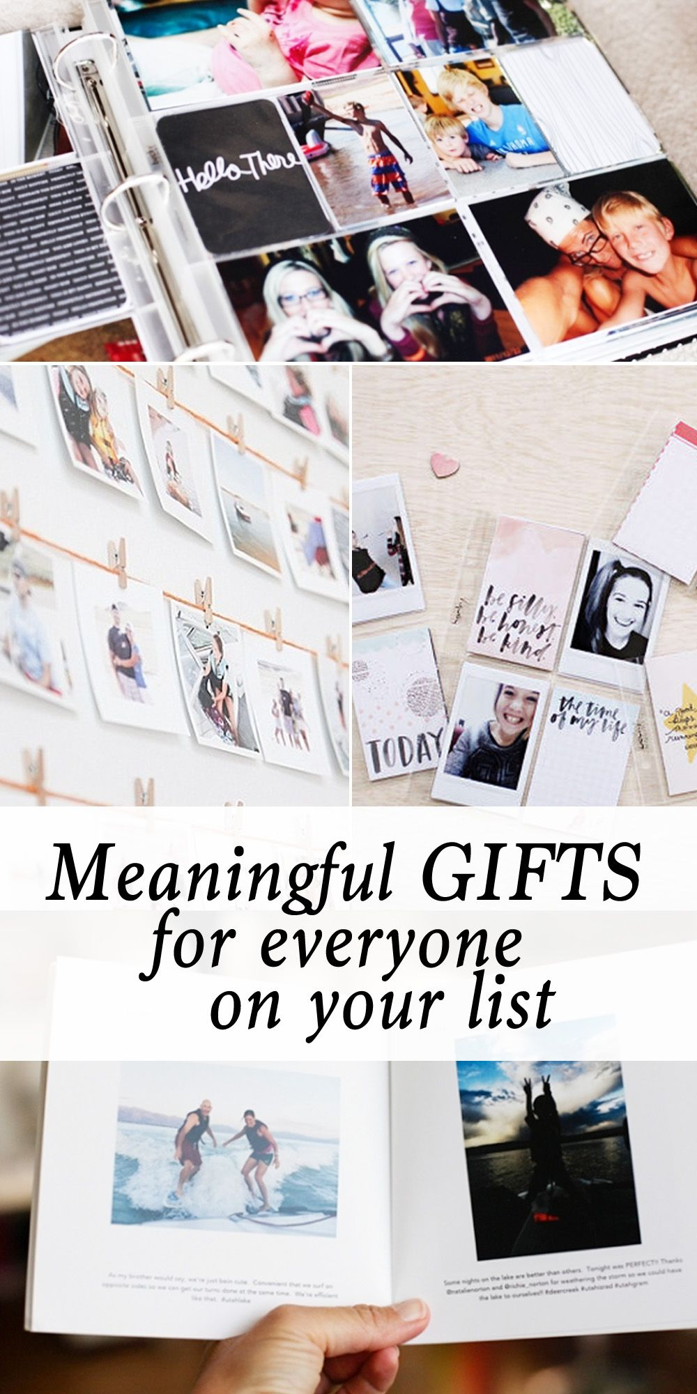 Meaningful gifts using Photos! | Bloggers Best | Pinterest | Gifts ...