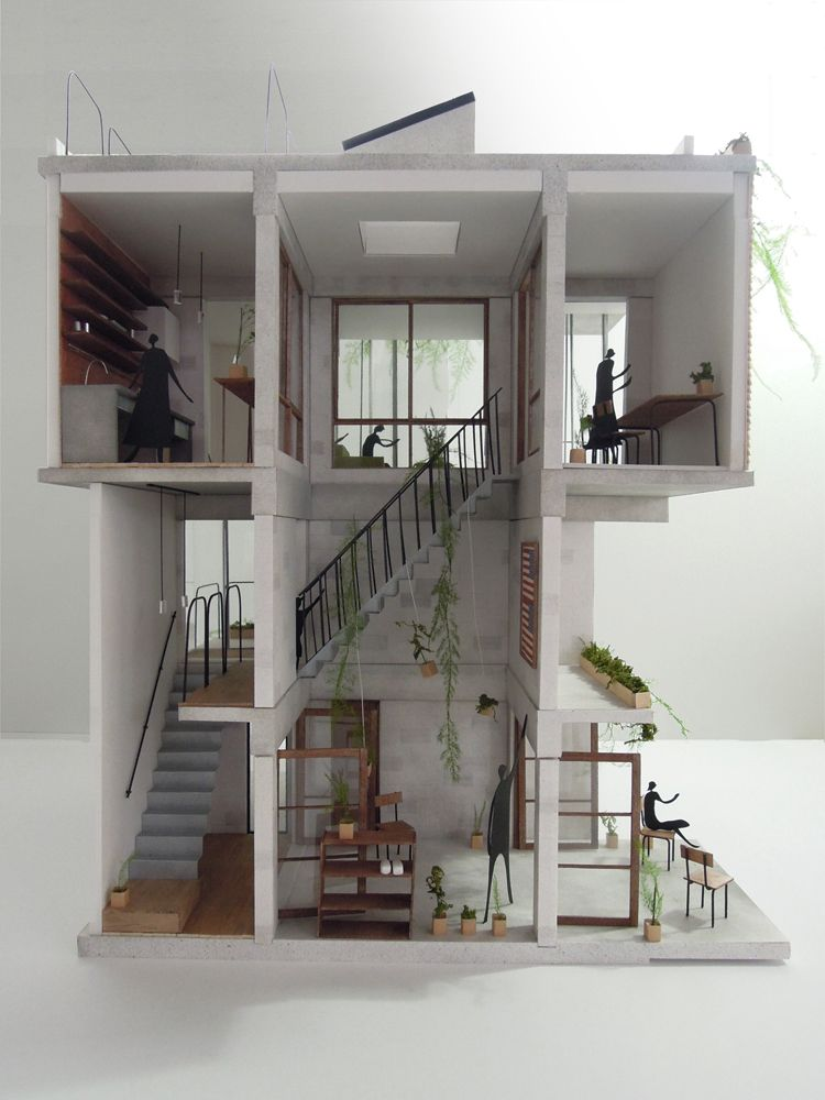 House fu niigata dwelling pinterest modell for Grundriss raumplaner