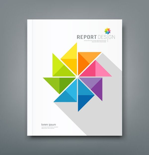 business report cover page - Google Search designer_inspo Pinterest