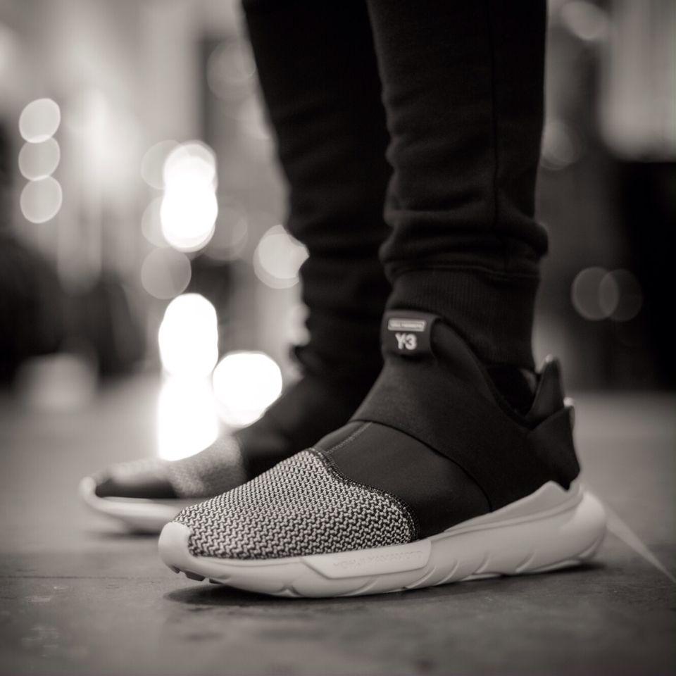96283b4e0 Adidas Y-3 qasa low II black