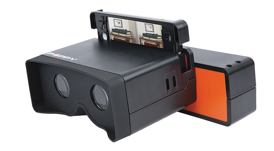Poppy 3D Camera - Make wigglegrams, stereoscopic photos and