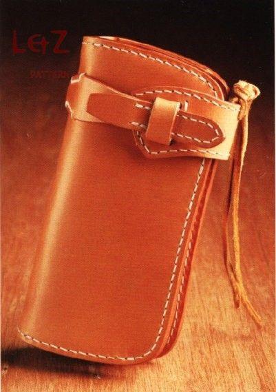 bag sewing patterns long wallet patterns PDF CCD-04 LZpattern design ...