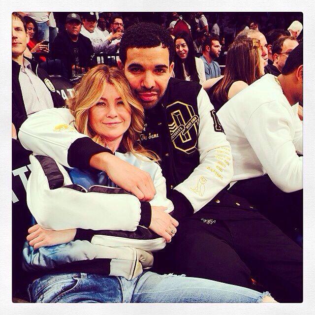 è Drake dating Ellen Pompeo