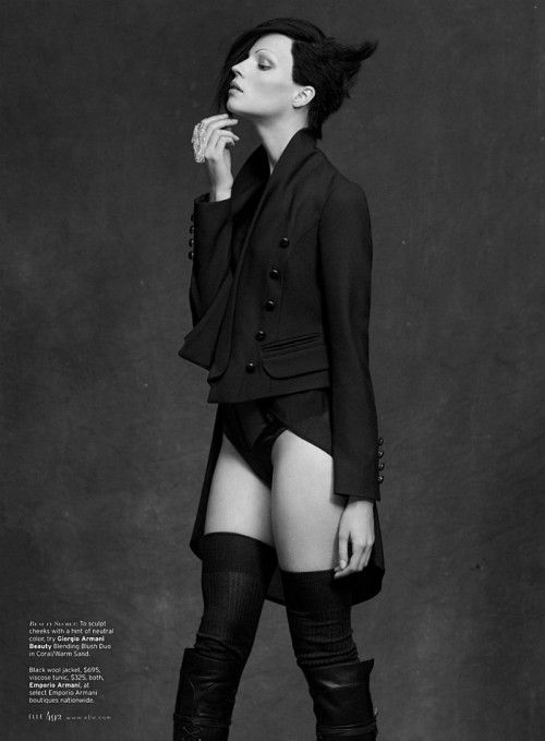 such a cool tailcoat                                         Shot by Thomas Whiteside for Elle.