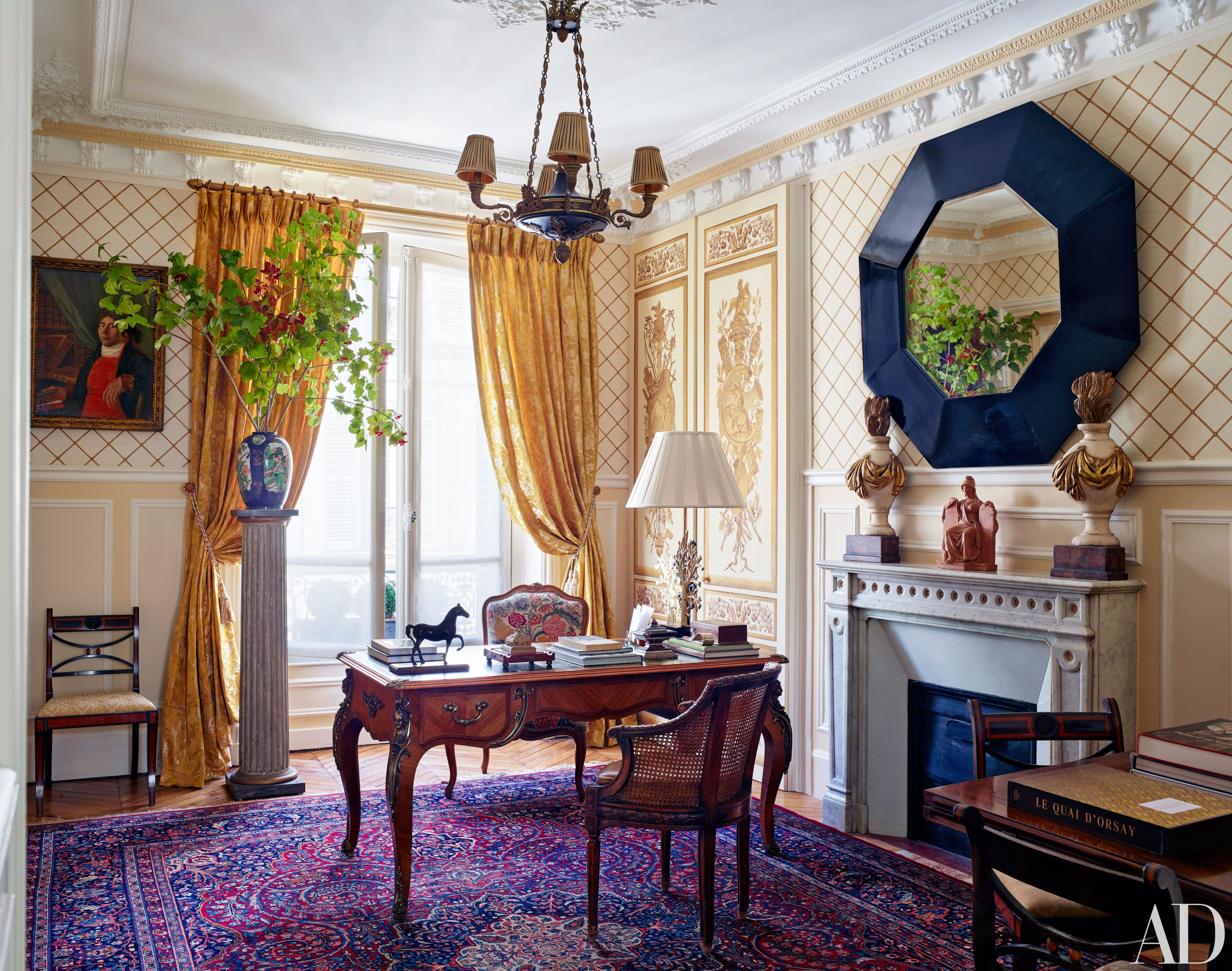Decorator Timothy Corrigan Invites Us Inside His Paris Apartment Fascinating Apt Living Room Decorating Ideas Decorating Design