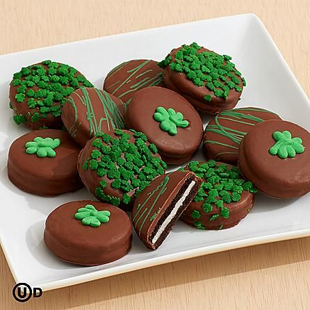 Desserts - St. Patrick's Day Chocolate Covered Oreo® Cookies at ...
