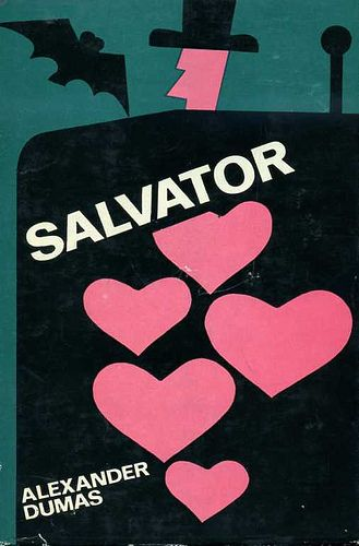 Salvator by Alexander Dumas - book cover