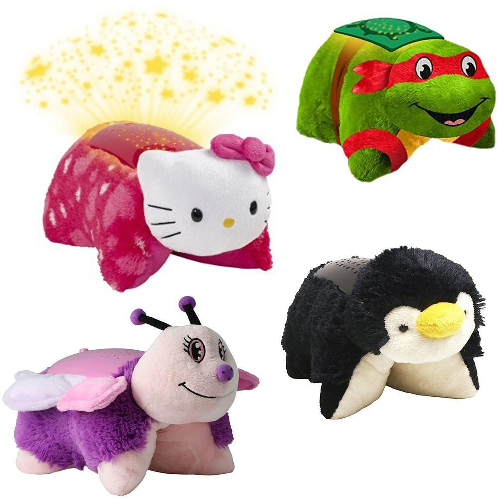 Stuffed Animal Plush Kids Bedtime Nap Toys Mini Pillow Pets In 2020 Animal Pillows Kids Bedtime Pet Gifts