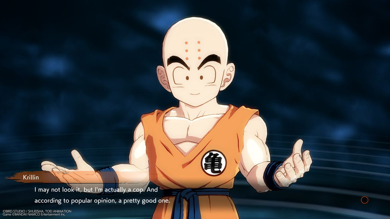 MyKrillin is the SpiderMan of Dragon Ball analogy continues to be reinforced and Im not