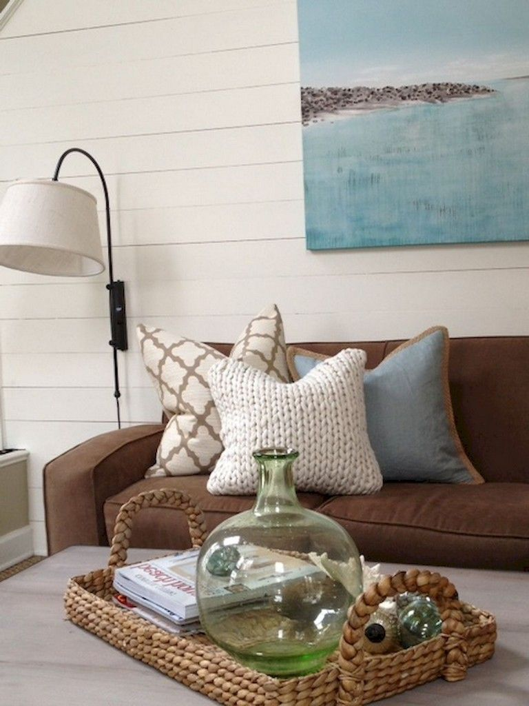 Brown Couch Living Room Wild Country Fine Arts