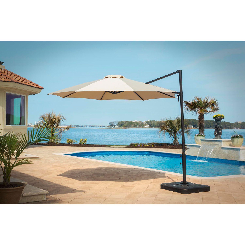Cantilever Umbrella In Tan Cantilever Tan Patio Patio