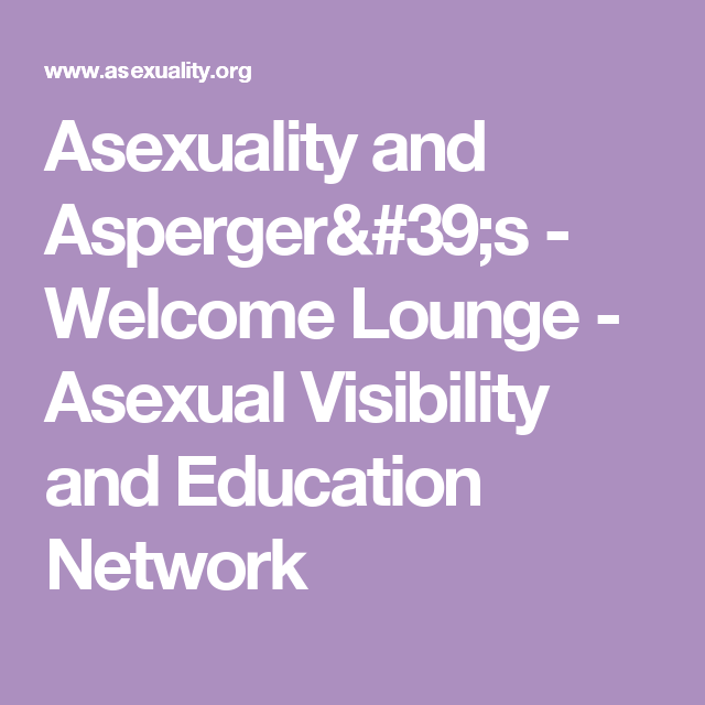Aspergers asexual