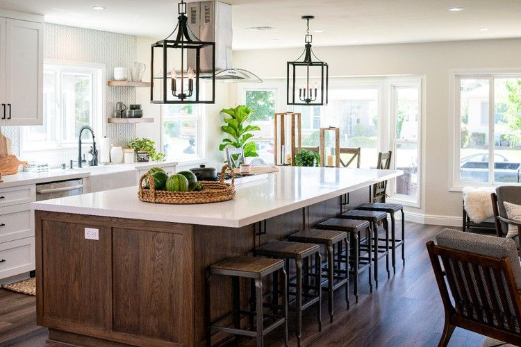Open Concept Kitchen Is A Family Friendly Chef S Dream Hgtv In 2020 Open Concept Kitchen Kitchen Remodel Small Kitchen Inspirations