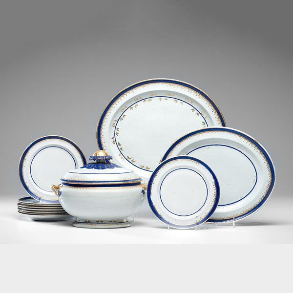 Chinese Export Porcelain Tablewares  :